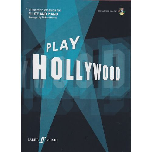 FABER MUSIC PLAY HOLLYWOOD FLUTE + CD