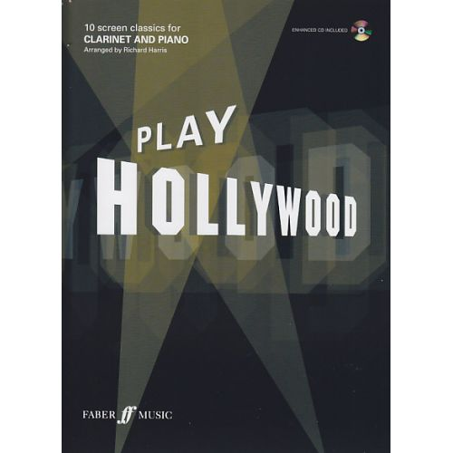 FABER MUSIC PLAY HOLLYWOOD CLARINET + CD