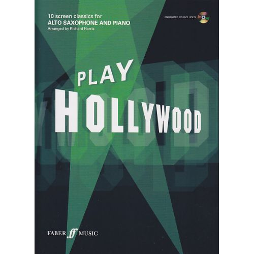 FABER MUSIC PLAY HOLLYWOOD ALTO SAXOPHONE + CD