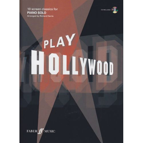 FABER MUSIC PLAY HOLLYWOOD PIANO + CD