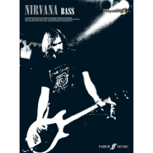FABER MUSIC NIRVANA - AUTHENTIC BASS PLAYALONG TAB + CD