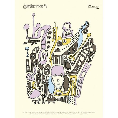 FABER MUSIC RICE DAMIEN - 9 - GUITARE TAB
