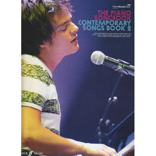 FABER MUSIC PIANO SONGBOOK - CONTEMPORARY SONGS VOL.2