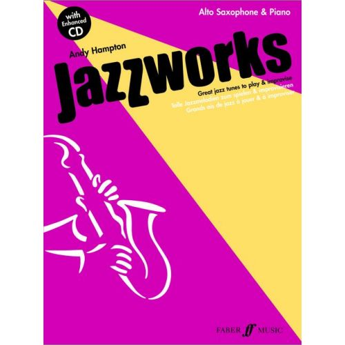 FABER MUSIC HAMPTON ANDY - JAZZWORKS + CD - SAXOPHONE