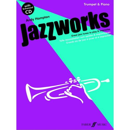 FABER MUSIC HAMPTON ANDY - JAZZWORKS + CD - TRUMPET