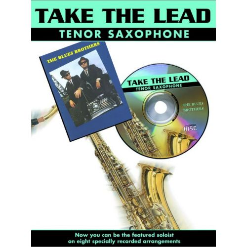 FABER MUSIC TAKE THE LEAD - BLUES BROTHERS + CD - SAXOPHONE AND PIANO
