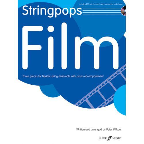 FABER MUSIC WILSON PETER - STRINGPOPS FILM + CD - SCORE