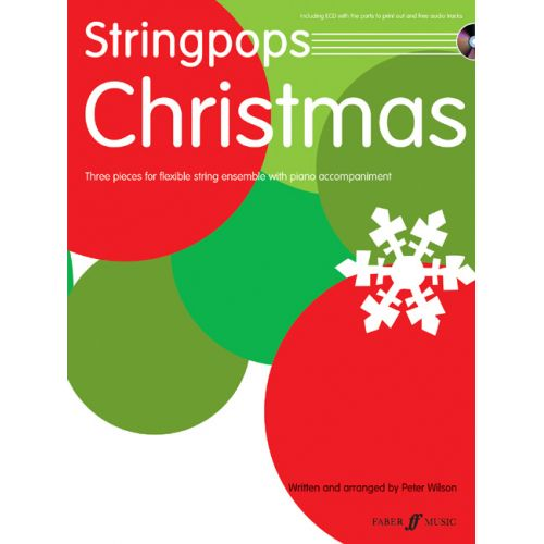FABER MUSIC WILSON PETER - STRINGPOPS CHRISTMAS + CD - SCORE