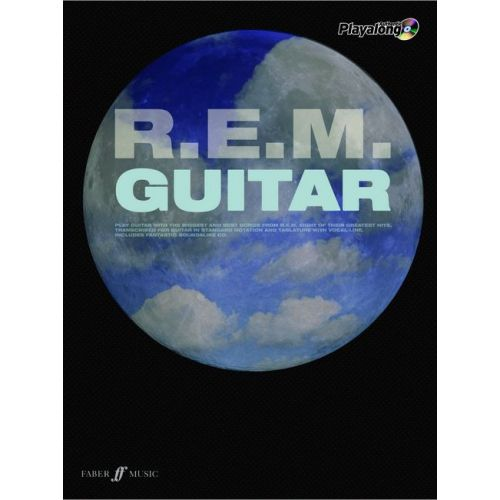 FABER MUSIC R.E.M. - AUTHENTIC GUITAR PLAYALONG + CD - GUITAR