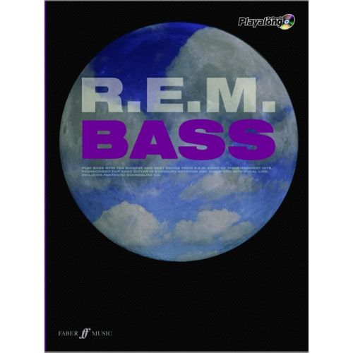 FABER MUSIC R.E.M. - AUTHENTIC BASS PLAYALONG + CD - BASS