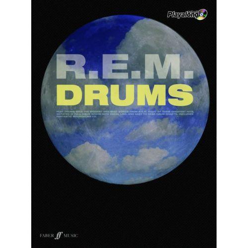 FABER MUSIC R.E.M. - AUTHENTIC DRUMS PLAYALONG + CD - DRUMS