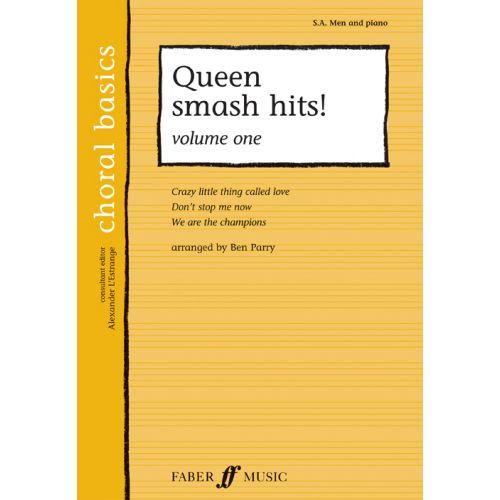 FABER MUSIC PARRY BEN - SMASH HITS! VOL.1 - CHORAL BASICS - MALE VOICES