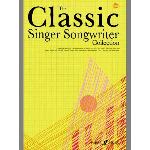 FABER MUSIC CLASSIC SINGER SONGWRITER COLLECTION - CHORD SONGBOOKS