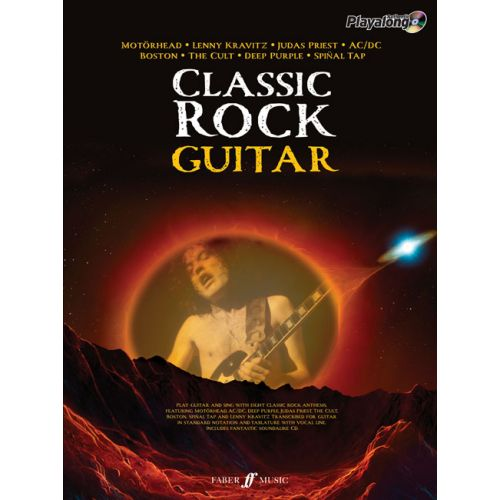 FABER MUSIC CLASSIC ROCK AUTHENTIC GUITAR PLAYALONG - GUITAR