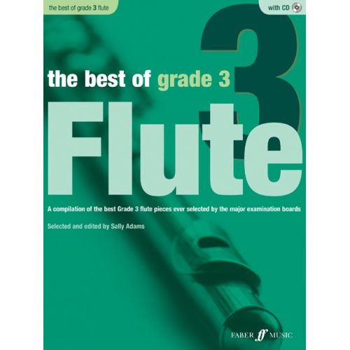 FABER MUSIC ADAMS SALLY - BEST OF GRADE 3 + CD - FLUTE AND PIANO
