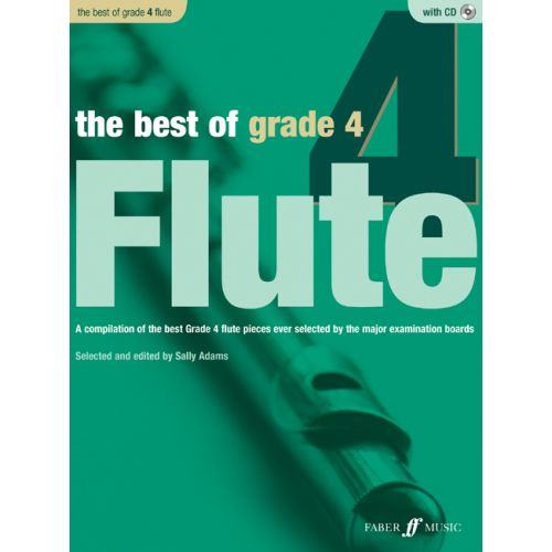 FABER MUSIC ADAMS SALLY - BEST OF GRADE 4 FLUTE + CD - FLUTE AND PIANO