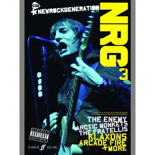 FABER MUSIC NEW ROCK GENERATION PART 3, THE + 2CDS - PVG - CHORD SONGBOOKS