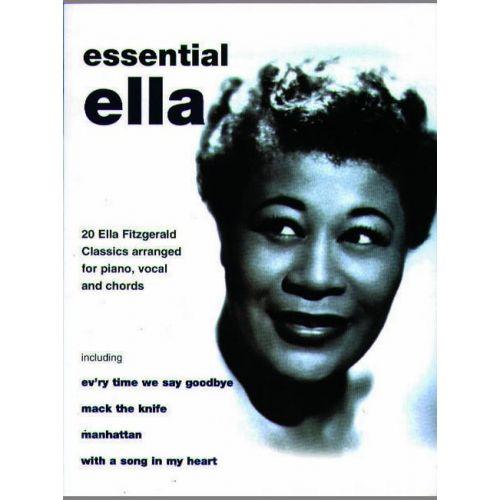 FABER MUSIC FITZGERALD ELLA - ESSENTIAL ELLA - PVG