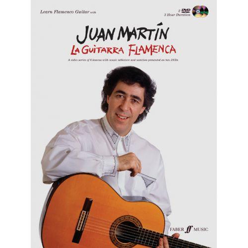 FABER MUSIC MARTIN JUAN - GUITARRA FLAMENCA + 2 DVD - GUITAR