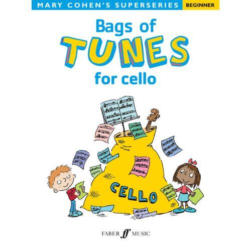 FABER MUSIC COHEN MARY - BAGS OF TUNES FOR CELLO - CELLO SOLO