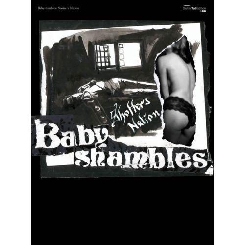 FABER MUSIC BABYSHAMBLES - SHOTTER'S NATION - GUITARE TAB