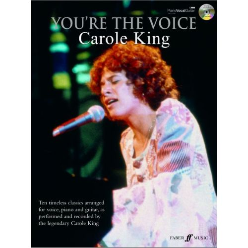 FABER MUSIC KING CAROLE - YOU'RE THE VOICE + CD - PVG