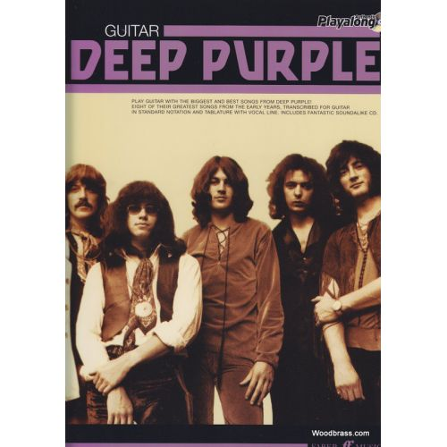 FABER MUSIC DEEP PURPLE - AUTHENTIC GUITAR PLAYALONG - GUITARE