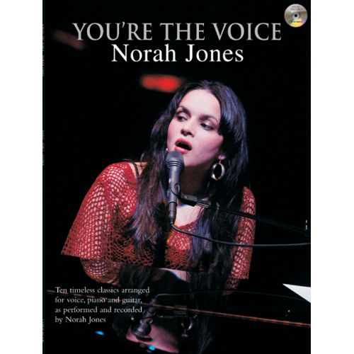 FABER MUSIC JONES NORAH - YOU'RE THE VOICE + CD - PVG