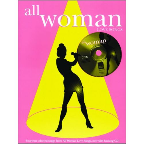 FABER MUSIC ALL WOMAN LOVE SONGS + CD - PVG