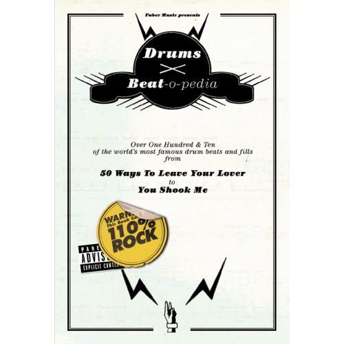 FABER MUSIC BEAT-O-PEDIA - DRUMS