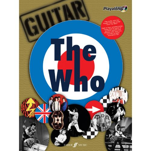 FABER MUSIC WHO THE - THE AUTHENTIC GUITAR PLAYALONG + CD - GUITAR