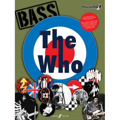 FABER MUSIC WHO THE - THE AUTHENTIC BASS PLAYALONG + CD - BASS