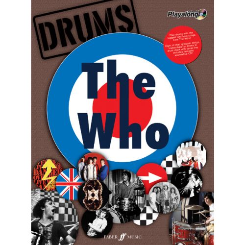 FABER MUSIC WHO THE - AUTHENTIC DRUMS PLAYALONG + CD - DRUMS