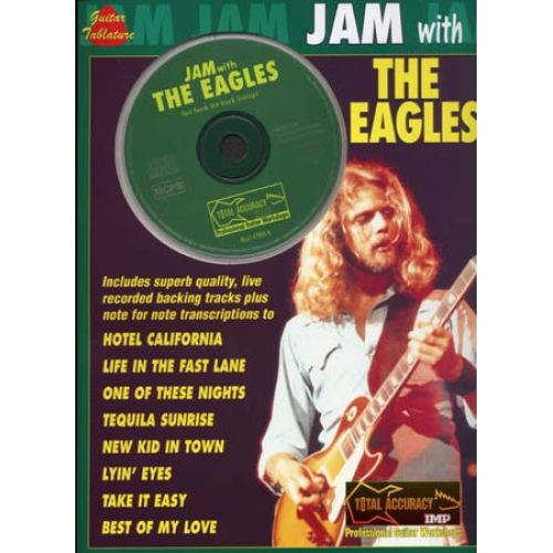 FABER MUSIC EAGLES - JAM WITH + CD - GUITAR TAB