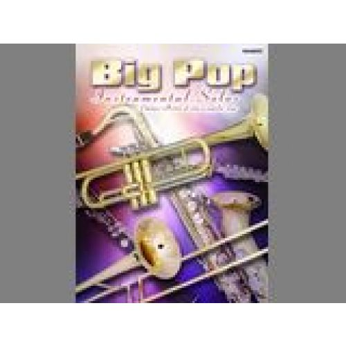 FABER MUSIC BIG POP INSTRUMENTAL SOLOS - TRUMPET SOLO