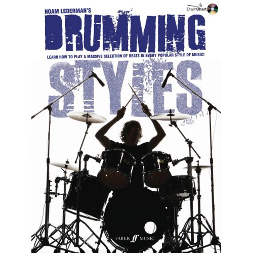 FABER MUSIC LEDERMAN NOAM - DRUMMING STYLES + CD - BATTERIE
