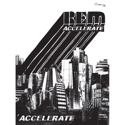 FABER MUSIC R.E.M. - ACCELERATE - GUITARE TAB
