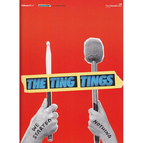 FABER MUSIC TING TINGS (THE) - WE STARTED NOTHING - PVG