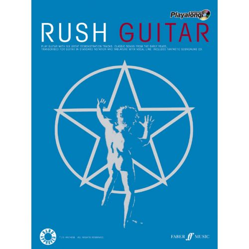 FABER MUSIC RUSH - AUTHENTIC GUITAR PLAYALONG + CD - GUITAR