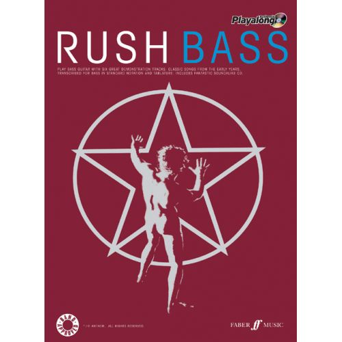 FABER MUSIC RUSH - AUTHENTIC BASS PLAYALONG + CD - BASS