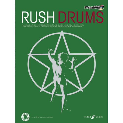 FABER MUSIC RUSH - AUTHENTIC DRUMS PLAYALONG + CD - DRUMS