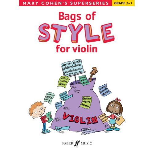 FABER MUSIC COHEN MARY - BAGS OF STYLE FOR VIOLIN - VIOLIN SOLO