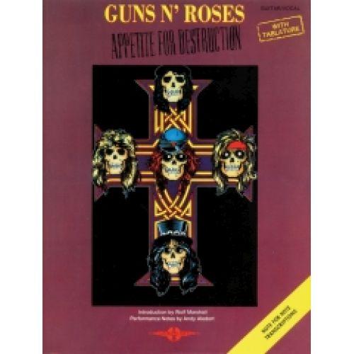 FABER MUSIC GUNS N'ROSES - APPETITE FOR DESTRUCTION- TAB