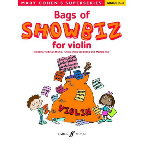 FABER MUSIC COHEN MARY - BAGS OF SHOWBIZ FOR VIOLIN - VIOLIN SOLO