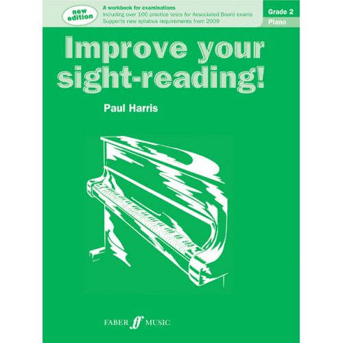 FABER MUSIC HARRIS PAUL - IMPROVE YOUR SIGHT-READING! GRADE 2 - PIANO