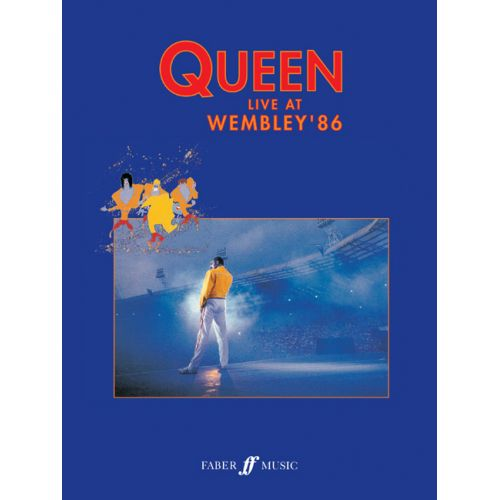 FABER MUSIC QUEEN - LIVE AT WEMBLEY '86 - PVG