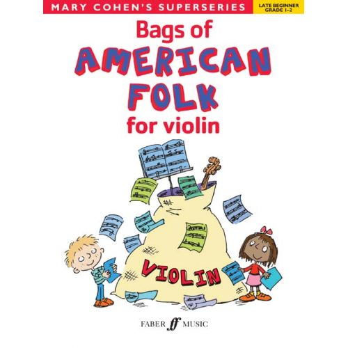 FABER MUSIC COHEN MARY - BAGS OF AMERICAN FOLK FOR VIOLIN - VIOLIN SOLO