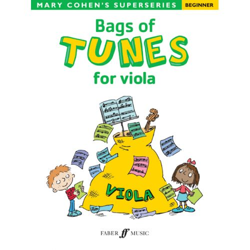 FABER MUSIC COHEN MARY - BAGS OF TUNES FOR VIOLA - VIOLA SOLO