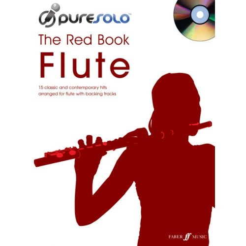 FABER MUSIC PURESOLO - RED BOOK + CD - FLUTE SOLO