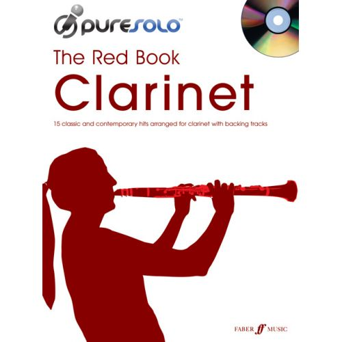FABER MUSIC PURESOLO - RED BOOK + CD - CLARINET SOLO